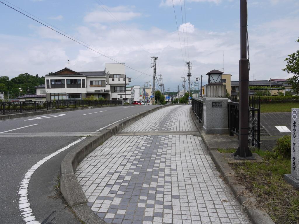 本宮から二本松 - 街道を歩く旅